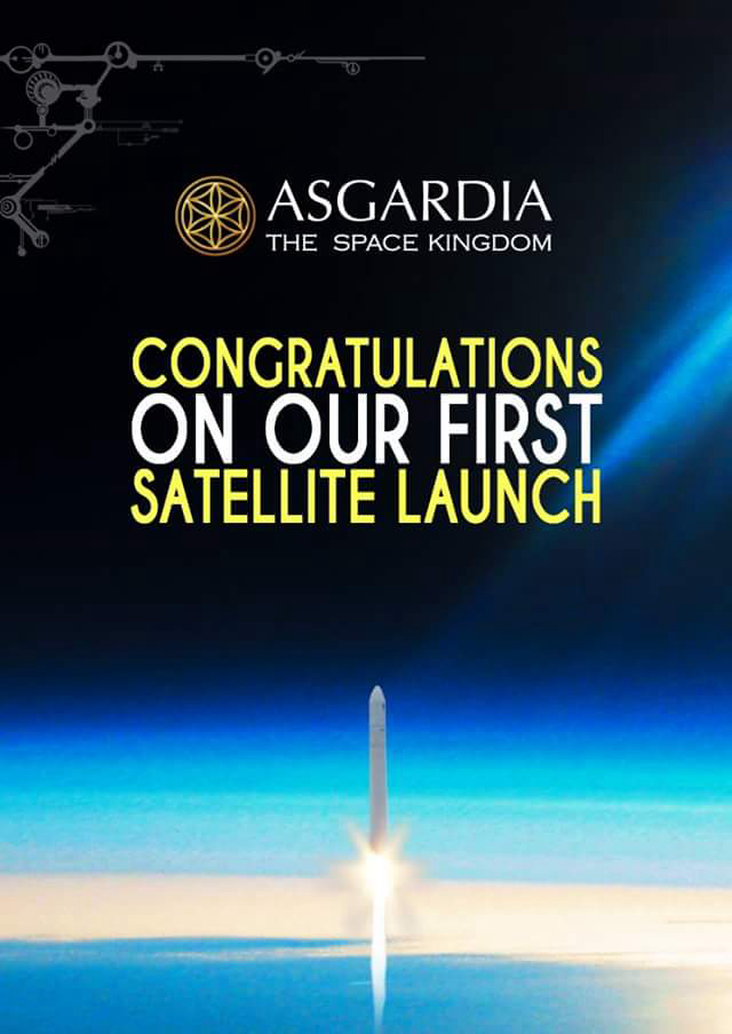 Asgardia-1 Update