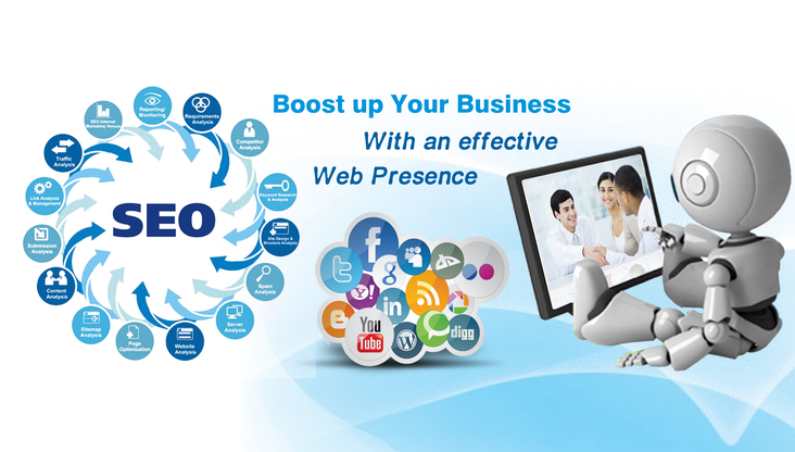 Boost Up Your Business with an effective web presence - Rank Trends