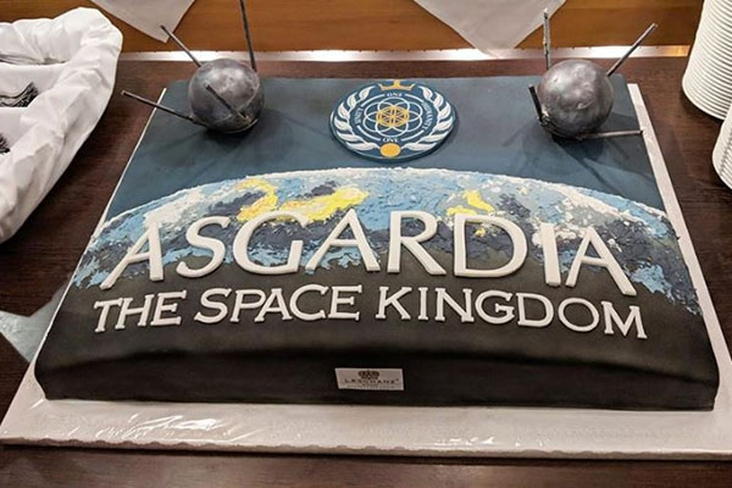 Inauguration today, Asgardia the first nation of space