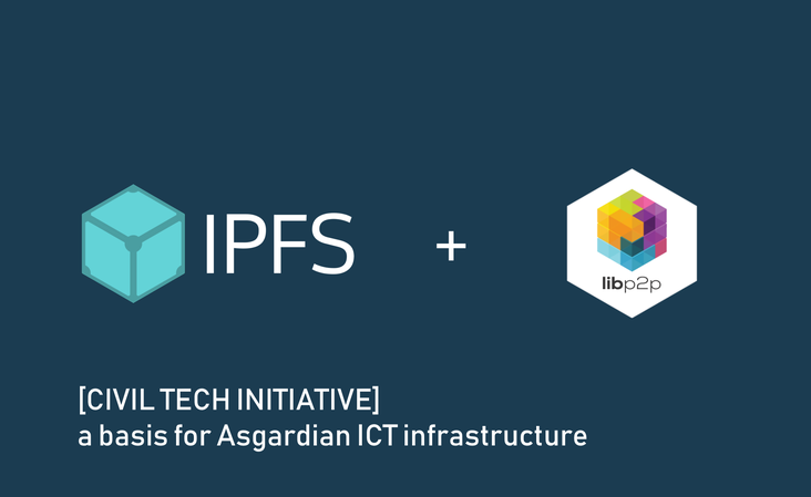 CIVIL TECH INITIATIVE - IPFS and libp2p at the core of Asgardian infrastructure to come