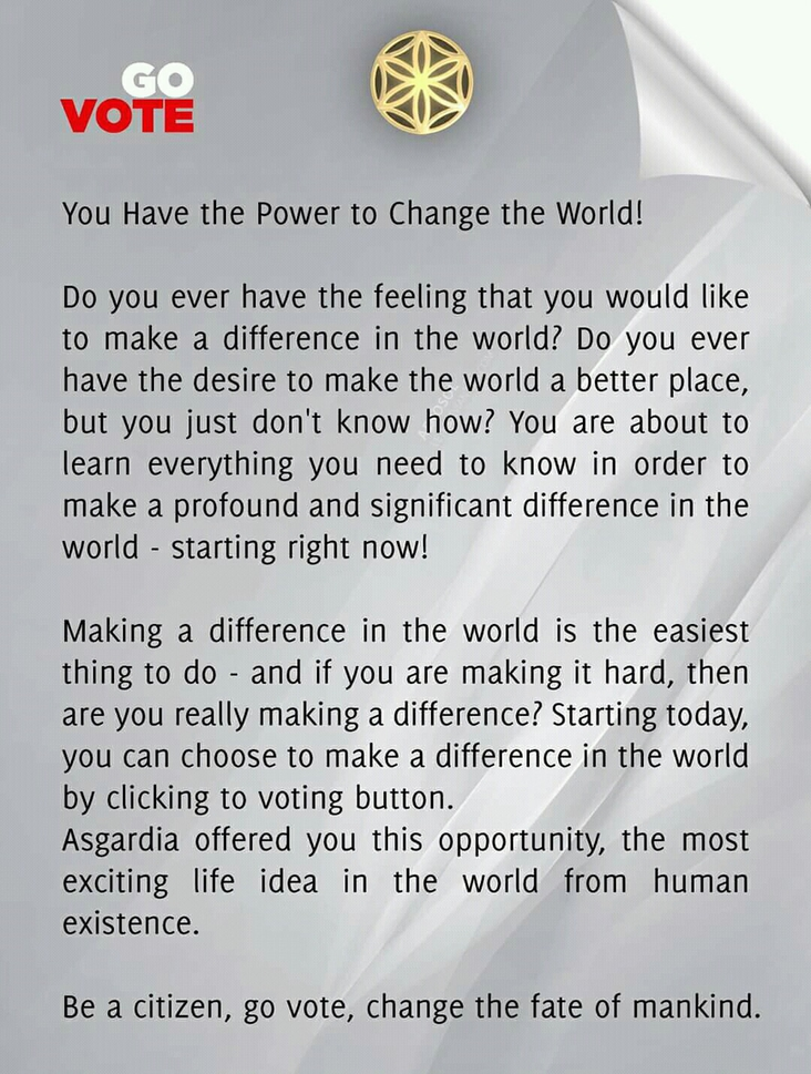 changed the world?