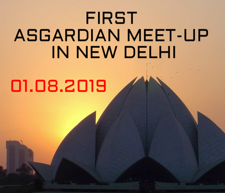 First Asgardian Meet-Up in New Delhi, India!