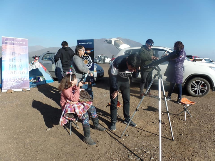 AMPs in Chile: Attending Rare Solar Eclipse Event