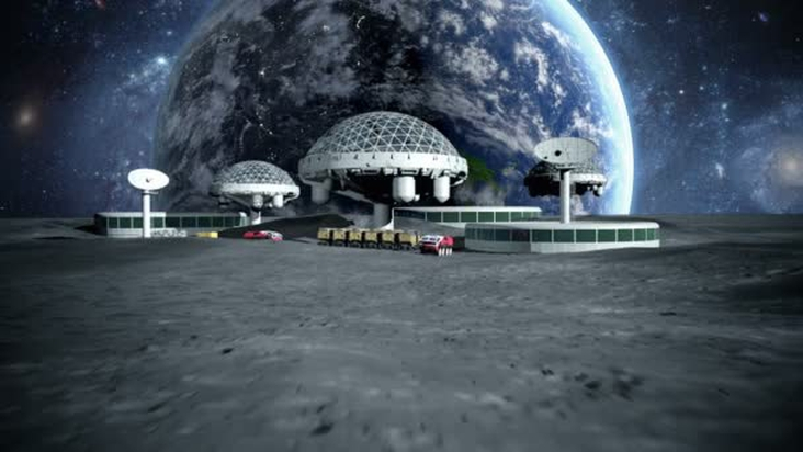 How do you think we will be able to create a moon settlement?