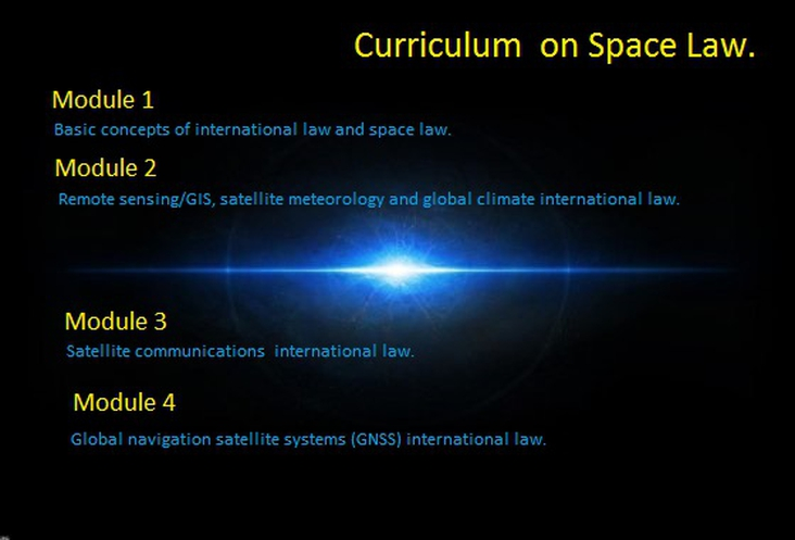 Curriculum Asgardia on Space Law.