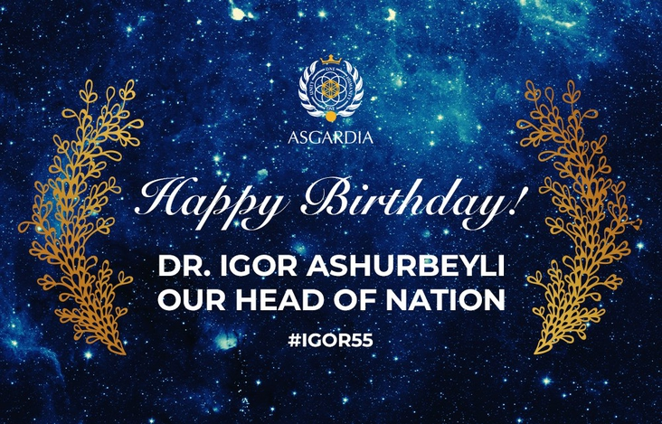 Happy Birthday  Dr Igor Ashurbeyli