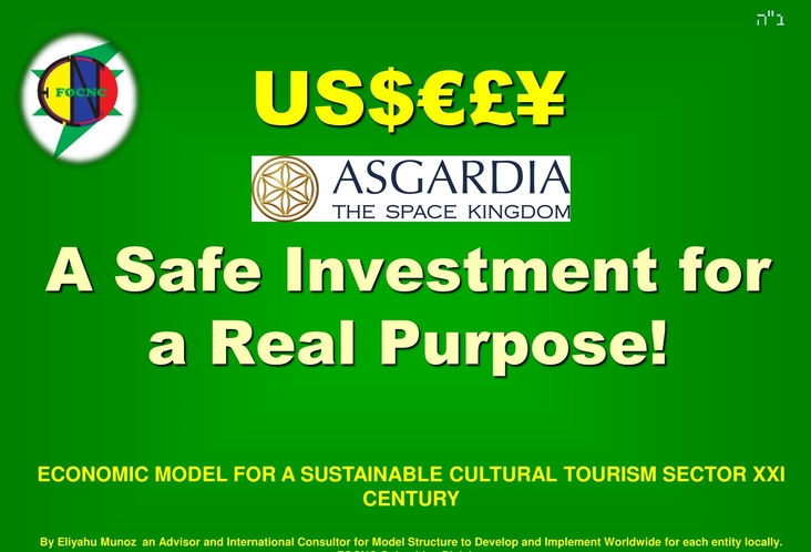 Asgardia a Safe Investment for a Real Purpose! /         Asgardia una Inversión Segura, para un Propósito Real!         Vote for Me! / Vota por Mi!