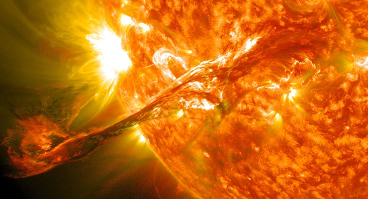 Solved the mystery of plasma tornadoes in the Sun