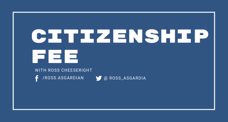 Hey Asgardia, Let's talk about the Citizenship Fee