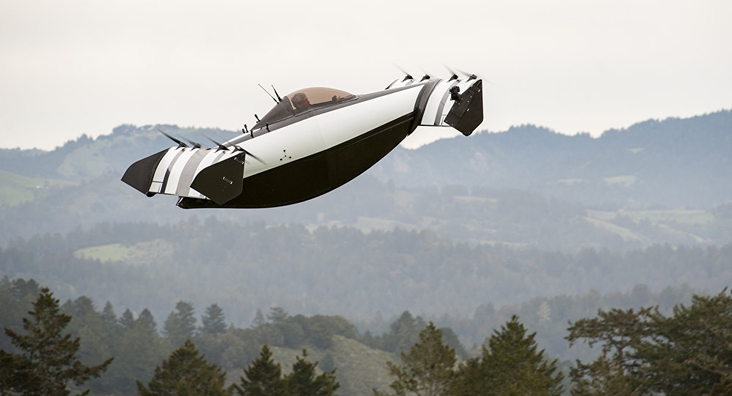 This is the first ultralight and fully electric flying vehicle