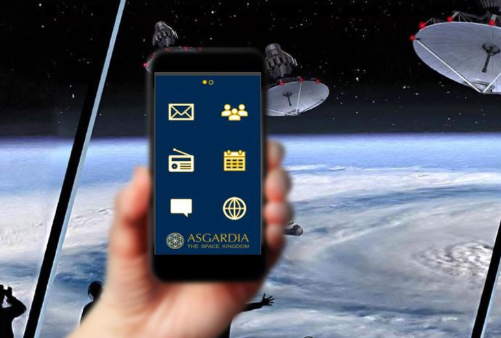ASTROBASE – Mobile App Concept for Asgardia