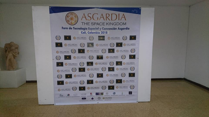 Introducing      Asgardia     in Cali Colombia South America in