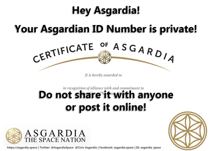 ASGARDIAN ID IS PRIVATE