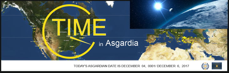 Do we need the time of Asgardia?