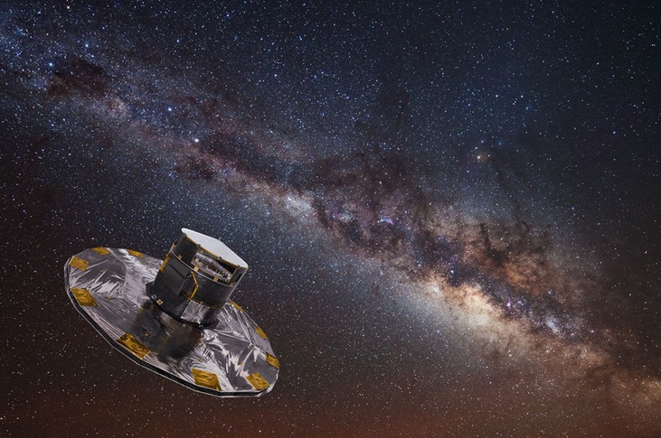 Incredible New View of the Milky Way Is the Largest Star Map Ever Made