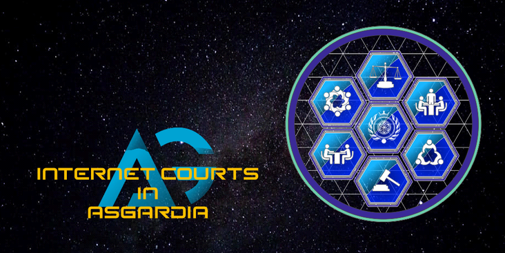 Internet courts in the Space Kingdom of Asgardia.