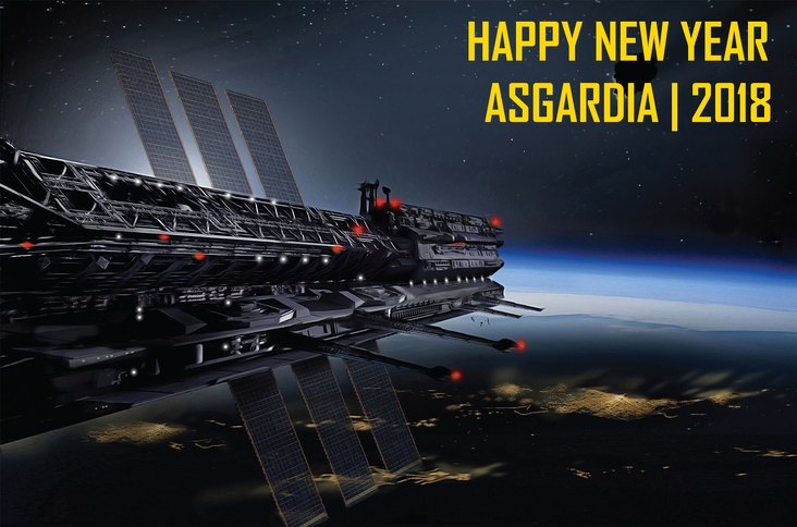 Happy New Year Asgardia | Progress made thus far!
