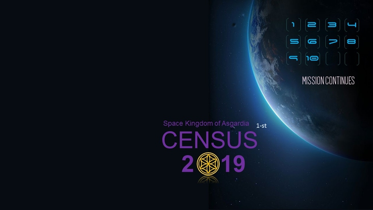 The first census of the Space Kingdom of Asgardia.