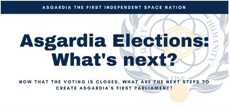 Asgardia Elections: What's next?