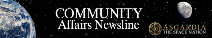 Asgardia Community Affairs newsline - October 25, 2017