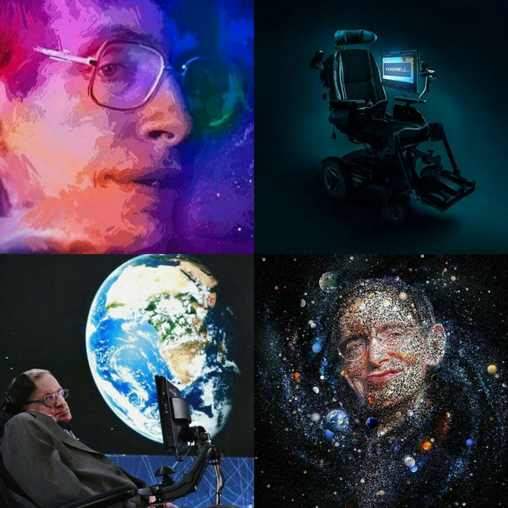 Condolence Message For Mr. Hawking From Fatemeh Ghodrati