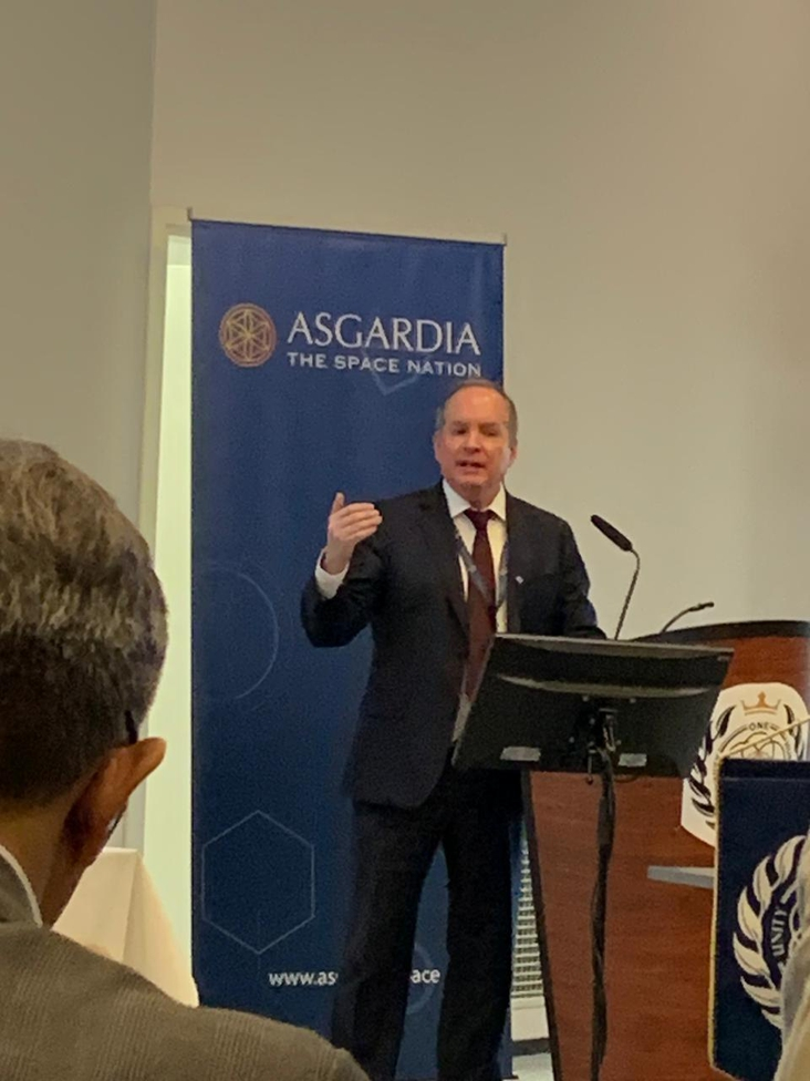 ASGARDIA:   200 Nations working together
