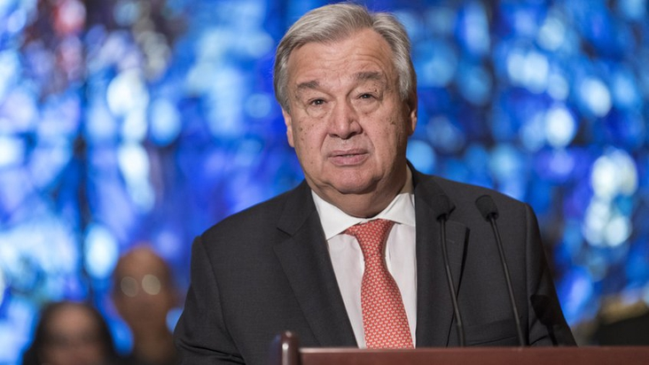 Antonio Guterres called for the