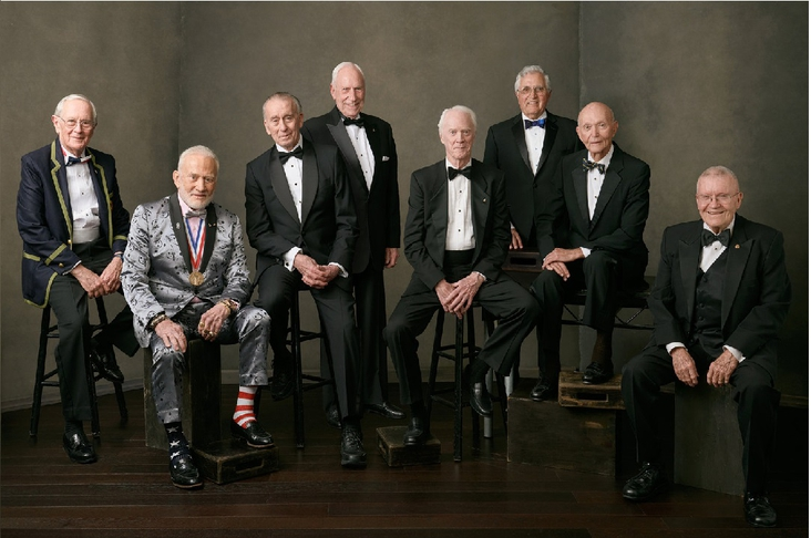 Apollo astronauts 8 got together for the 50th anniversary