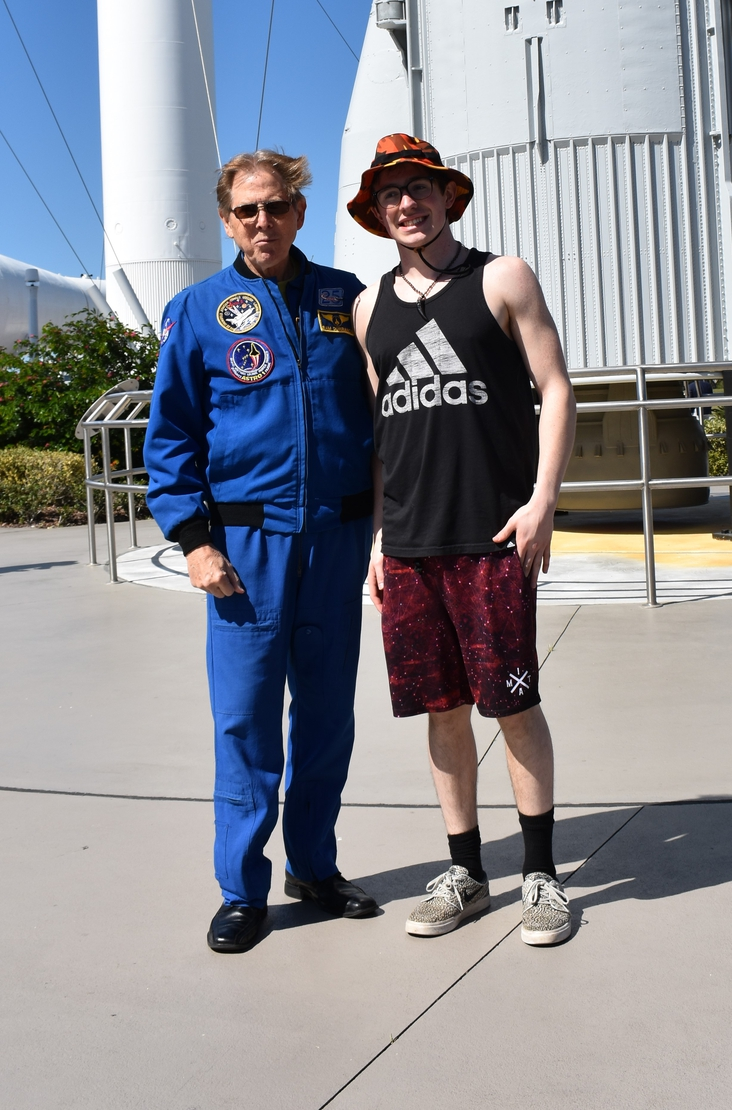 I met with an astronaut
