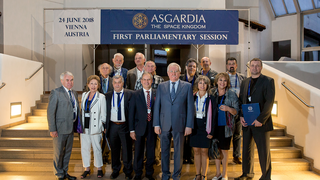 Asgardia | Igor Ashurbeyli on the First Assembly of Asgardian Parliament.