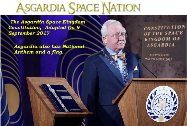 September  9, 2017 To Our Asgardia Kingdom Constitution