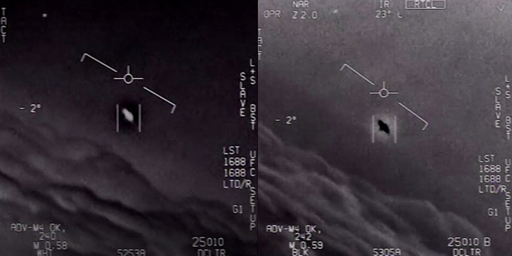 What are those Unidentified Flying Objects (UFO) we saw on some footage?