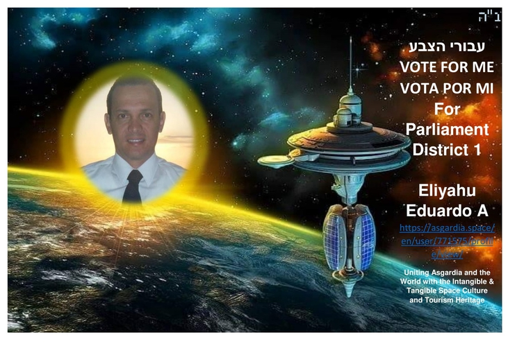 Space must be an Intangible and Tangible Culture Heritage of Humanity- VOTE FOR ME / VOTA POR MI / הצבע עבורי