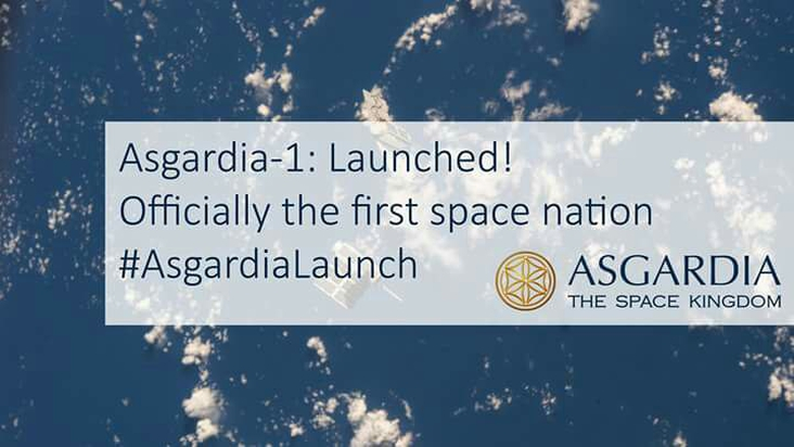 Asgardia-1: LAUNCHED