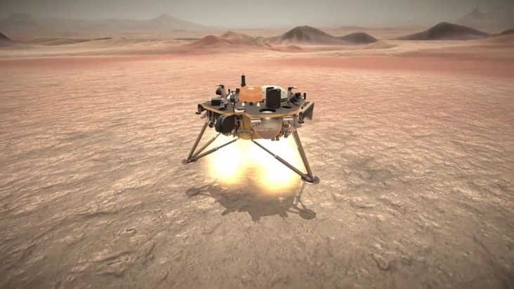 NASA's InSight lander has touched down on Mars