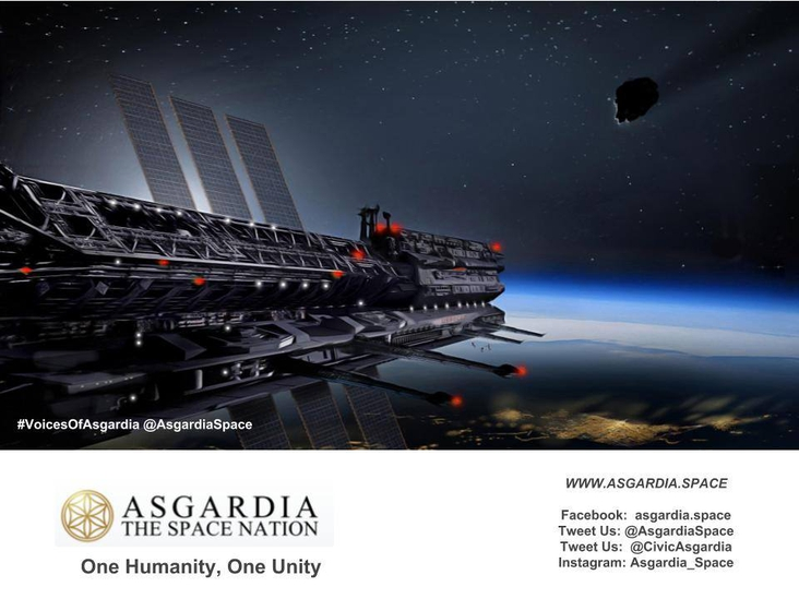 my efforts for awareness about asgardia<br/>
