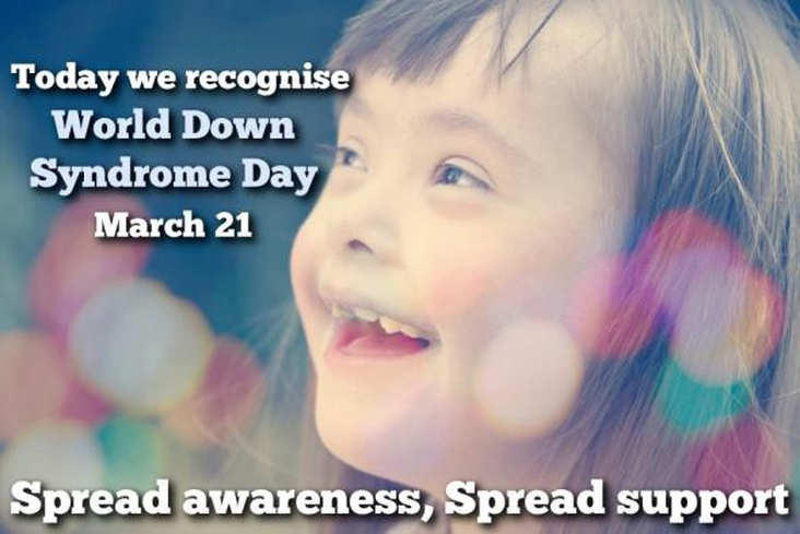 World Down Syndrome Day (WDSD), 21 March