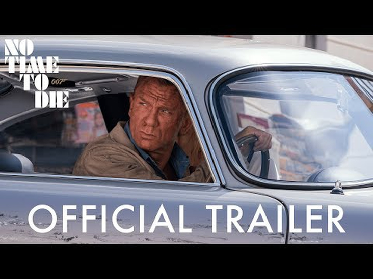 James Bond No Time to Die trailer is here!
