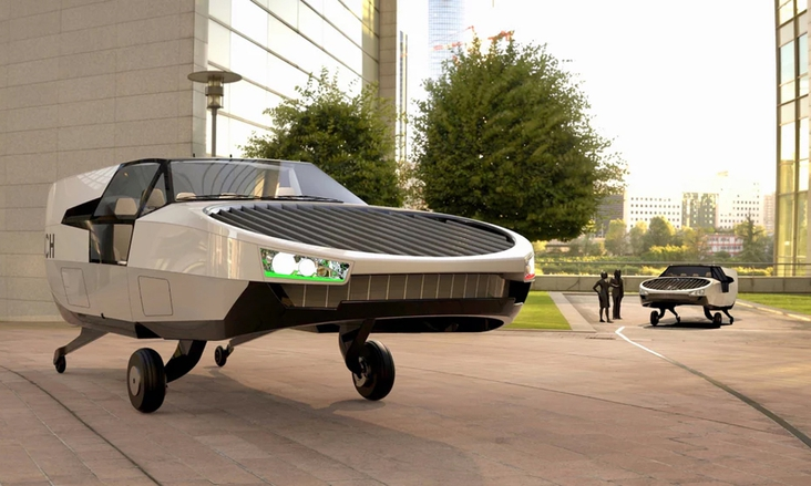 Watch: The newly announced flying car — the CityHawk