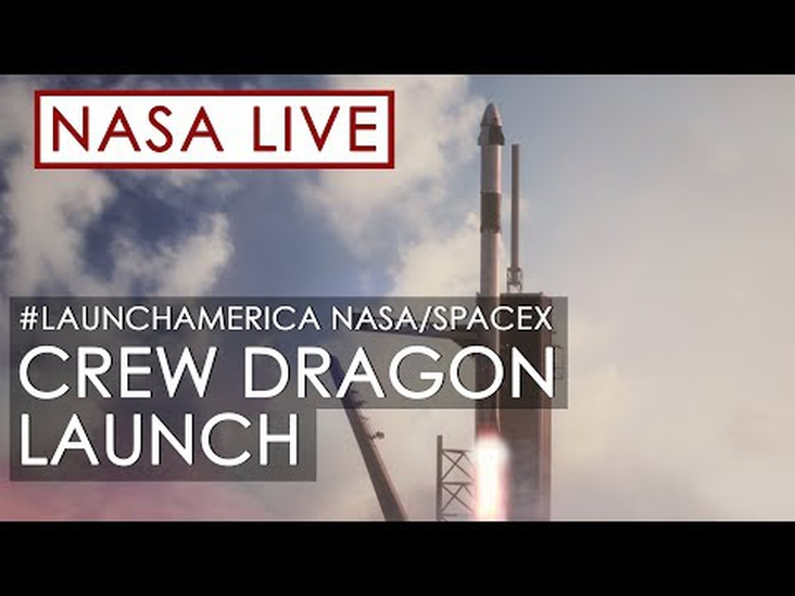 Today's NASA and SpaceX Launch!