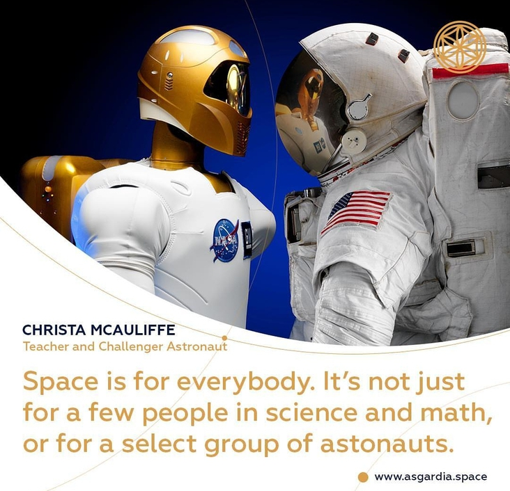 SPACE FOR EVERYONE!