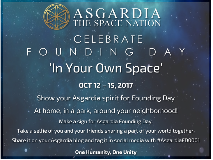 Founding Day photo challenge &#39;In Your Own Space&#39;!<br/>