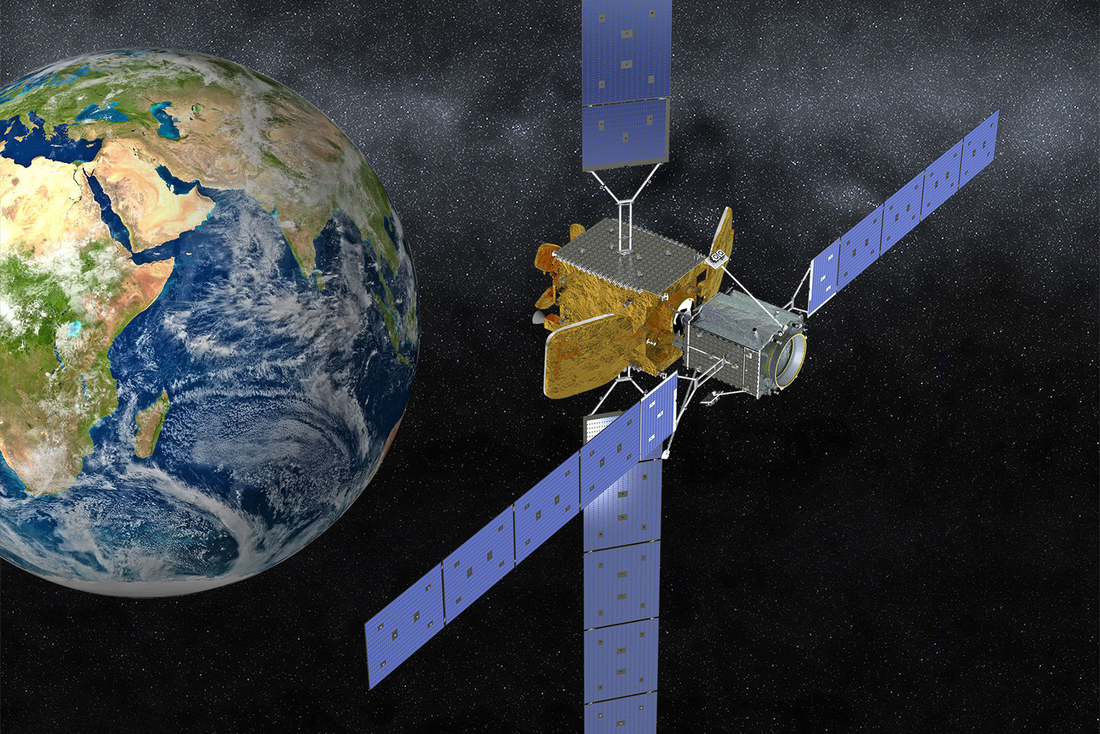 Mission Extension Vehicle-1 launches to save space from zombie satellites