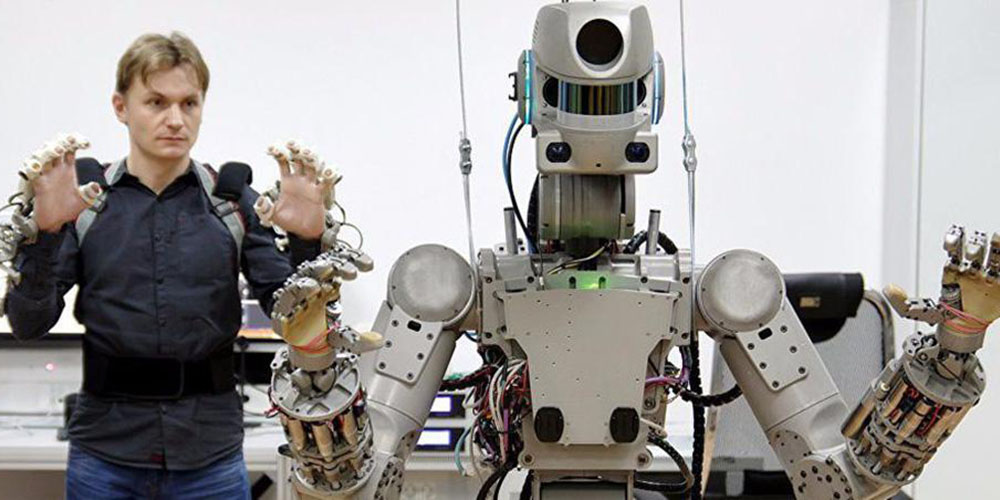 Robot Fedor Will Return from the ISS with 3D Printed Bone