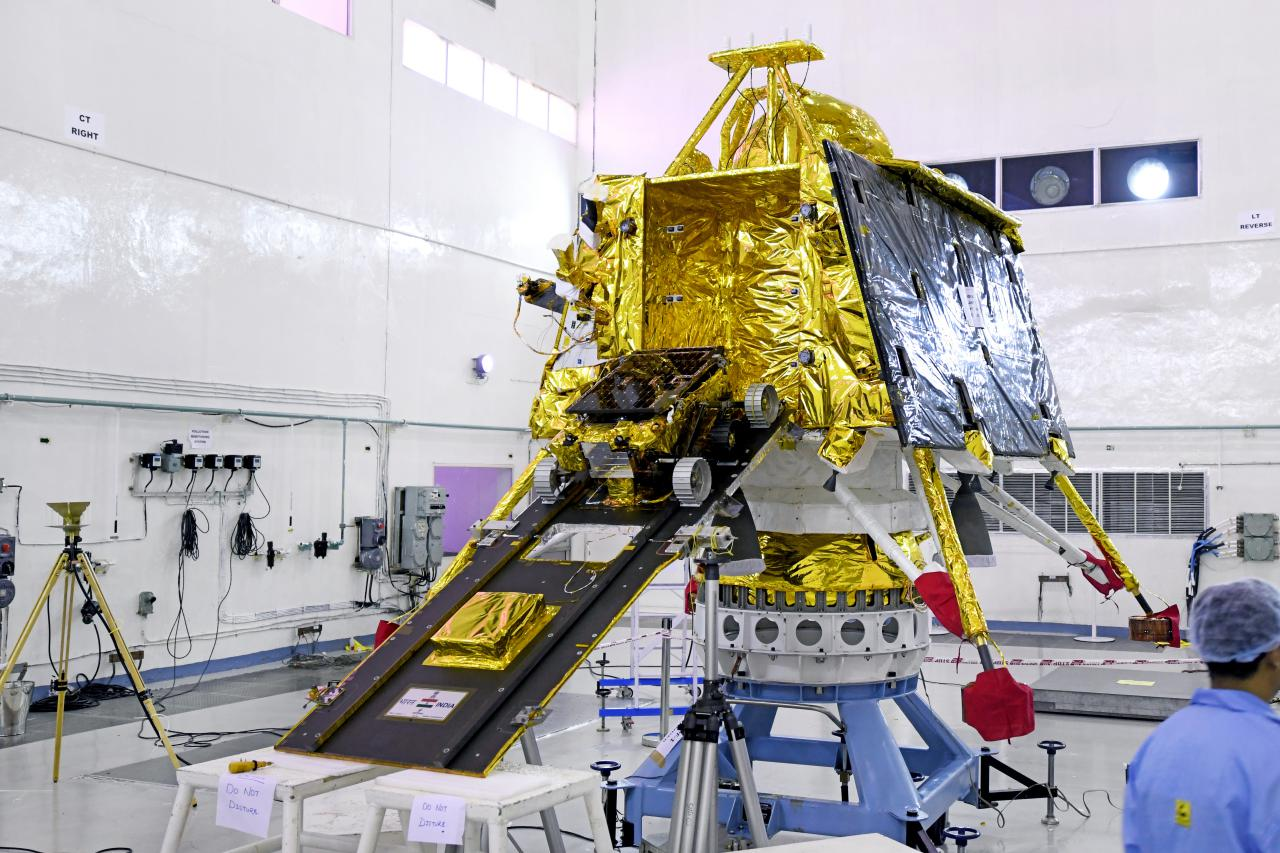 India May Attempt 'Chandrayaan 3' Moon Landing In November 2020