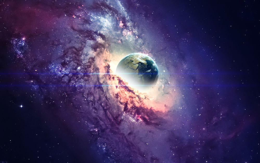What if Our Earth Revolved Around a Giant Black Hole?